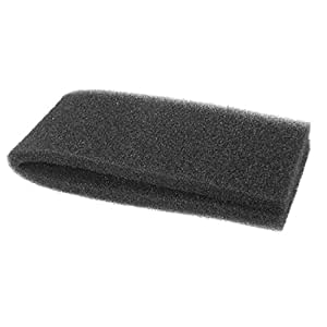 Sourcingmap Sponge Aquarium Filter, 32 x 12 x 2 cm, Black