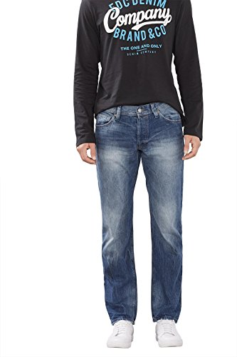 edc by Esprit 996cc2b901, Jeans Homme Bleu (DARK BLUE 405)