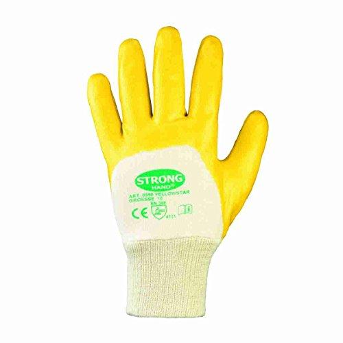 Nitril YELLOW Nitril-Handschuhe (12er Pack) 10,Gelb