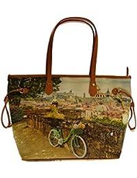 1e01cf25b0 YNOT donna borsa shopping L-319 ROMAN UNICA Roman