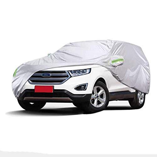 POLKMN Autoabdeckung Wasserdichte Spezial-Autoabdeckung für den Außenbereich SUV Dicker Oxford-Stoff Innensonnenschutz Regendicht (größe : 2016) (Auto-alarm Für Cabrio)