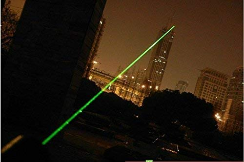 Jakha Rechargeable Military Burning Laser Pointers Pen Disco Light 650nm SD 1000mw (Black, Red, Green, Multicolour)