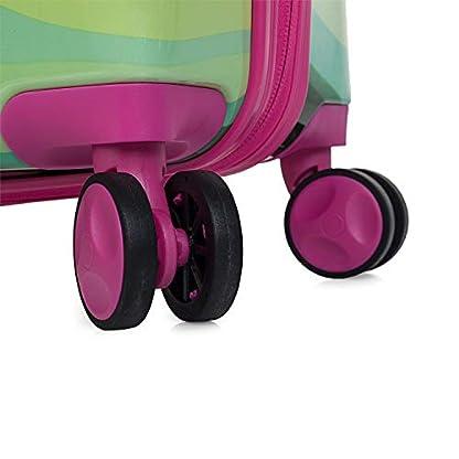AGATHA-RUIZ-DE-LA-PRADA-68501-Set-2-Kofferwagen-5060-cm-PC-Polycarbonat-gestanzt-Starre-widerstandsfhig-und-leicht-2-Griffe-4-Doppelrder-Billigflge
