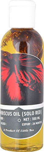 Hibiscus Oil - Single Hibiscus - For Hair 100 ml  available at amazon for Rs.520
