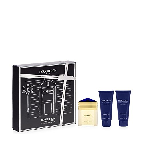 BOUCHERON HOMME EDP 100ML + GEL DUCHA 100ML + BALSAMO AFTER SHAVE 100ML (precio: 65,79€)