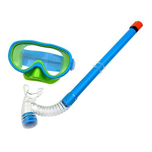 Eizur Niños Máscara buceo + dry top Windows snorkel