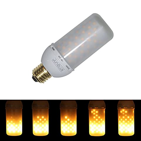 JUNOLUX Decorative Light Fire Effect Bulb Flame Lighting Eco Friendly For Christmas,Halloween Outdoor Decor,Mood Light Lamp for Party&Festival,Novelty Led,Pack of 1