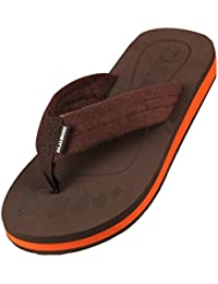 Sandalias para hombre, RETUROM Nuevas sandalias de la playa del flip-flop del hombre del estilo (40, Marrón)