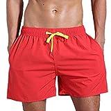 Eaylis-herren-shorts Sport Schwimmen Atmungsaktive Einfarbige Strandhose