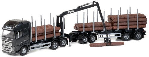 Emek - em71303 - volvo fh new legno autotreni scala 1:25