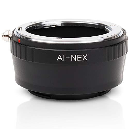 Berlin Optix Nikon-F AI Adapter kompatibel mit Sony NEX Alpha (Nikon Sony Adapter)