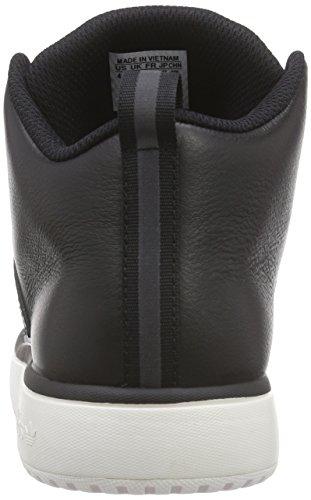 adidasVeritas Lea - Scarpe da Basket Unisex – Adulto Nero (Schwarz (Core Black/Core Black/Chalk White))