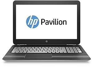 HP Pavilion (15-bc003ng) 39,6 cm (15,6 Zoll FHD IPS) Notebook (Intel Core i5-6300HQ, 8GB RAM, 1TB HDD, 128GB SSD, Nvidia GeForce GTX 950M, Windows 10) silber