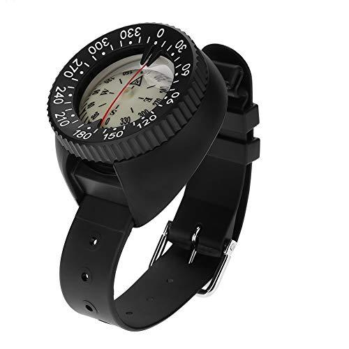 DEWIN Accessoire Outil Compas étanche en Plastique léger de Poignet Compass-Outdoor Mini