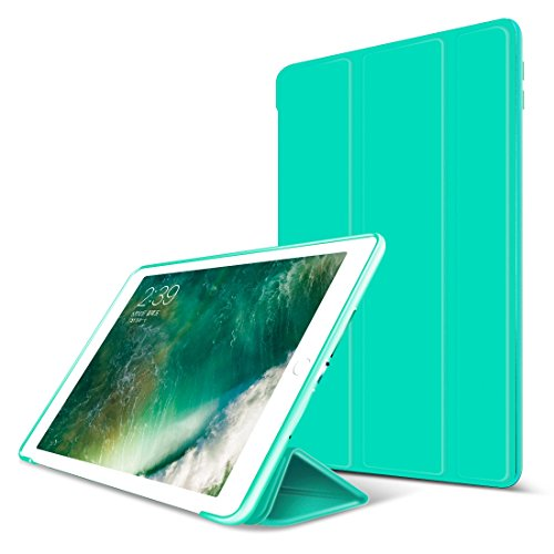 GOOJODOQ iPad Air 2 Hülle, iPad Air 2 PU Leder Etui Hülle Tasche mit Ständer Funktion und...