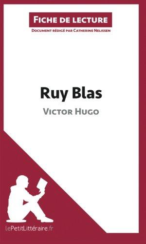 Ruy Blas de Victor Hugo (Fiche de lecture): Résumé Complet Et Analyse Détaillée De L'oeuvre