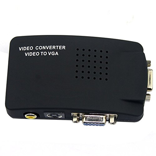 Ocamo Full HD 1080p Konverter Switch AV zu VGA TV zu PC Adapter European Regulations (Pc Zu Tv Konverter Wireless)