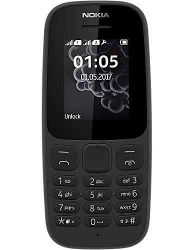 4. Nokia 105 Single SIM Mobile Phone
