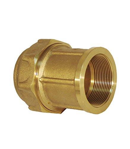 Rc Junter 44032 – Link femelle laiton, 32 mm, 5.5 x 5.5 x 5.5 cm, couleur doré