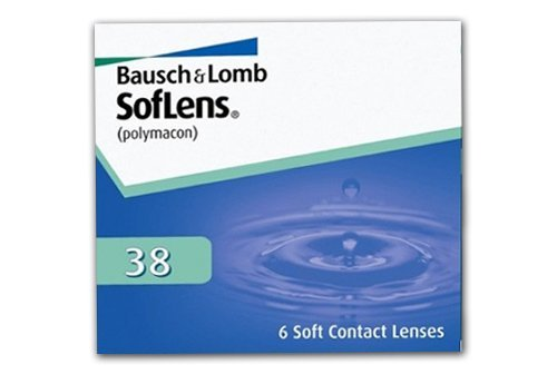 SofLens 38 Monatslinsen weich, 6 Stück / BC 8.70 mm / DIA 14.00 mm / -09.00 Dioptrien