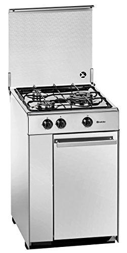 Meireles 5302DVW - Cocina (Gas natural, Convencional, Gas, Giratorio, Frente, 525 mm)...