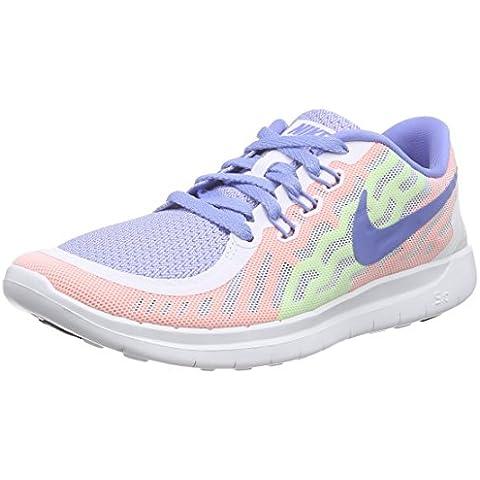Nike Free 5.0 (Gs), Zapatillas de Running para Niñas
