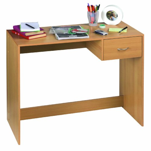 Schreibtisch Computertisch Bürotisch Kinderschreibtisch PC Arbeitstisch Buche