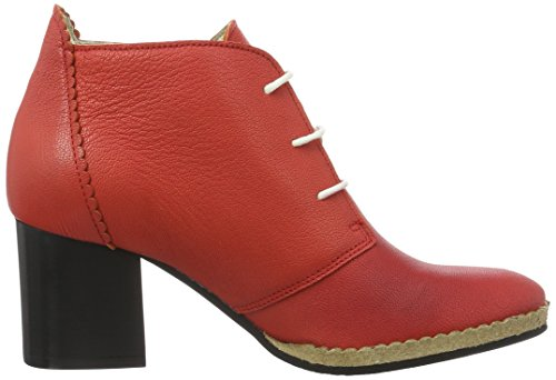 Fly London Chao006fly, Scarpe con Tacco Donna Rosso (scarlet 002)