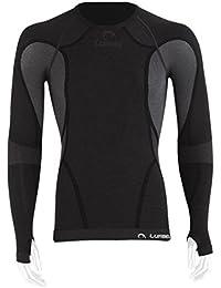 Lurbel - Shirt Long Sleeves Cumbre, color negro, talla M