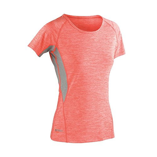 Spiro - T-shirt - Femme - Marl Orange Grey Mist