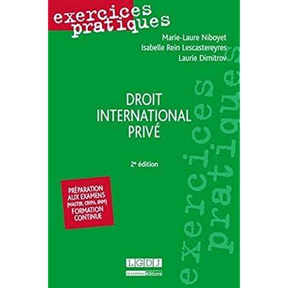 Droit international privé, 2ème Ed.
