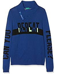 United Colors of Benetton Sweater L/S, Suéter para Niños,