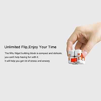 Ocamo Dados antiestrés de juguete,Cubos Bloque originales Xiaomi Mitu,Juguetes de Inteligencia Smart Fidget Cubos Mágicos Infinity Toys Anti Stress Ansiedad de Ocamo