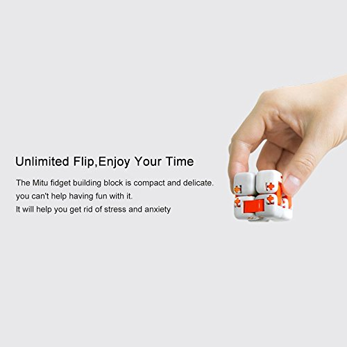 Zantec Regalo di Compleanno Original Xiaomi MITU Cubes Spinner Finger Bricks Giocattoli Intelligenti Intelligenza Fidget Magic Cubes Infinity Toys Ansia da Stress - 8
