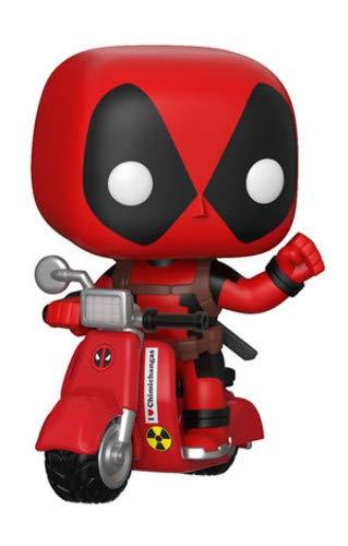 Figur POP Marvel Deadpool & Scooter (Dead Pool Spielzeug)