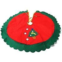 Primi Árbol de Navidad falda del árbol decoración estrellas appliquedia. 60cm