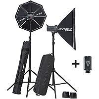El poucesrom EL20839,2-équipement complet flash Studio D-LITE RX Boite 4/4 Noir