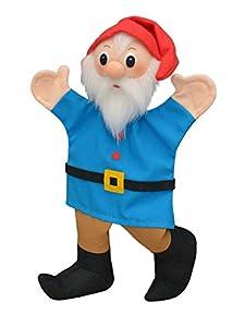 MU mubrno 26201b Enano 29cm Azul, marioneta de Mano