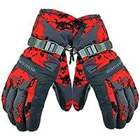 LF-ST Winterhandschuhe Wasserdicht winddicht atmungsaktiv Dicke Warme Handschuhe