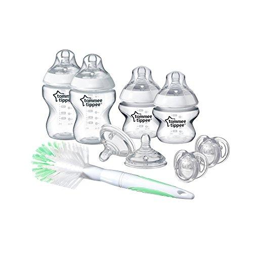 Tommee Tippee 42357391 - Juego básico para recién nacido, transparente