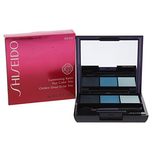Shiseido Smk L.Sat.Eyecolor Trio 412 - Lidschatten, 1er Pack (1 x 1 Stück)