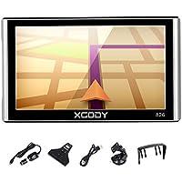 Xgody 826 - Sistema de navegación GPS para camión con Bluetooth para coche, pantalla táctil