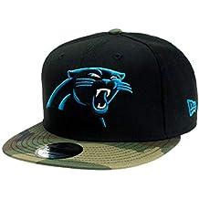 A NEW ERA Gorra Snapback Carolina Panthers - Gorra NFL en una Talla para  Todos 2475081a970