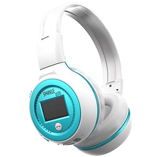 Republe HiFi Stereo Bluetooth cuffia auricolare senza fili del microfono di sostegno Radio FM auricolare Micro-SD Card per ZEALOT B570