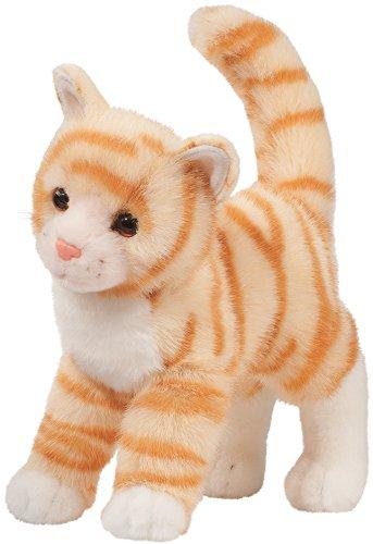 Cuddle Toys 186530cm Lang Lesehilfe Tiffy orange, Design Getigerte Katze Plüsch Spielzeug (Tabby-katze-plüsch)