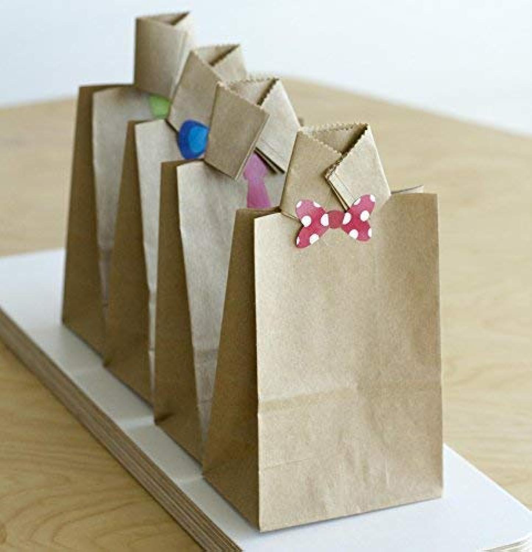 e47b28b433 100 papier kraft sac sachet en sacs 9 x 16 x 5 cm cadeau noel mini ...