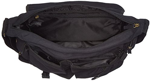 Elephant , Borsa Messenger Pure Black ( Schwarz )