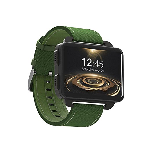 J-Rrafy Orologio Sportivo Intelligente Android Smart Watch 1 GB + 16 GB, LEMFO LEM4 PRO Android Smart Watch Supporto Telefonico...