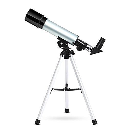 90X Teleskop für Kinder - Educational Science Teleskop für Kinder mit Single-Tube Portable Astronomische Landschaft Objektiv & Stativ - Ideal für Astronomie Anfänger für Star Watching