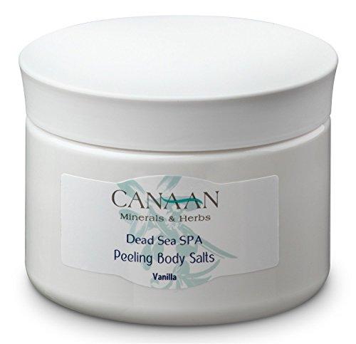 Spa-tote (Canaan Minerals & Herbs Totes Meer Spa Peeling Körper salz Anti Cellulite Vanilla 370gr)